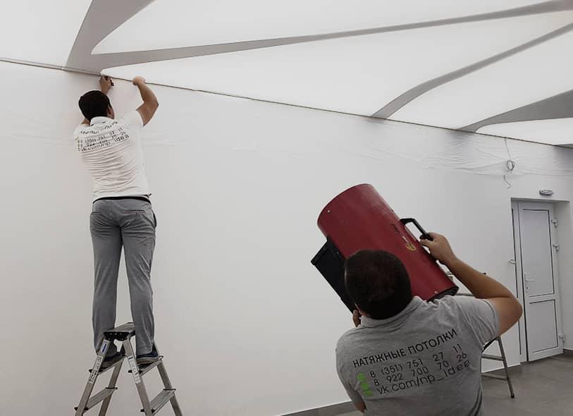 Натяжные потолки Idea
